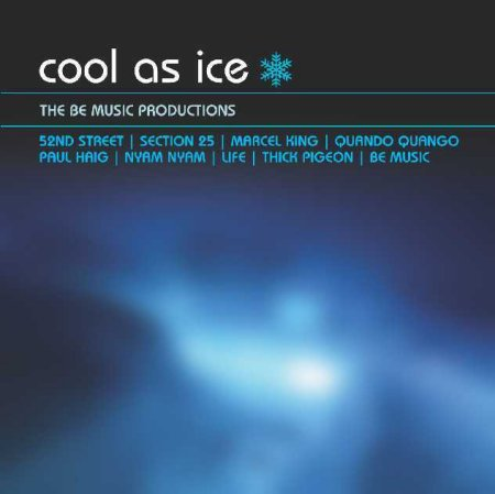 LTMCD 2377 Cool As Ice - The Be Music Productions; front cover detail