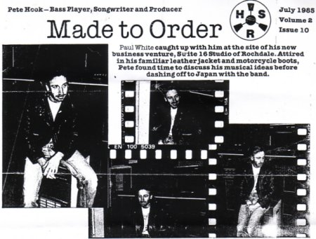 Home Studio and Recording 'Made To Order' - HSR July 1985 Volume 2 Issue 10