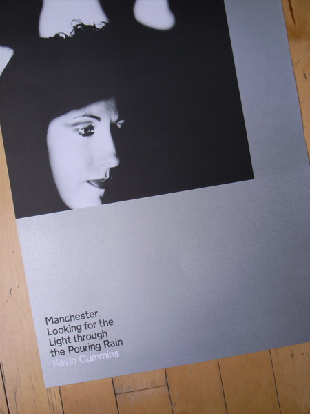 Manchester: Looking For The Light Through The Pouring Rain by Kevin Cummins; poster 1 - New Order