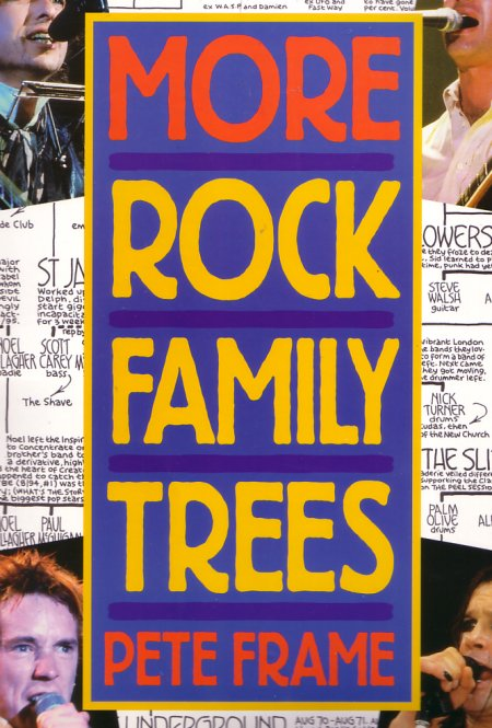 More Rock Family Trees by Pete Frame