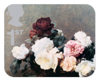 Classic Album Covers Royal Mail Stamps - Power, Corruption & Lies by New Order, designed by Peter Saville