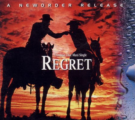 Regret; US Maxi CD front cover detail