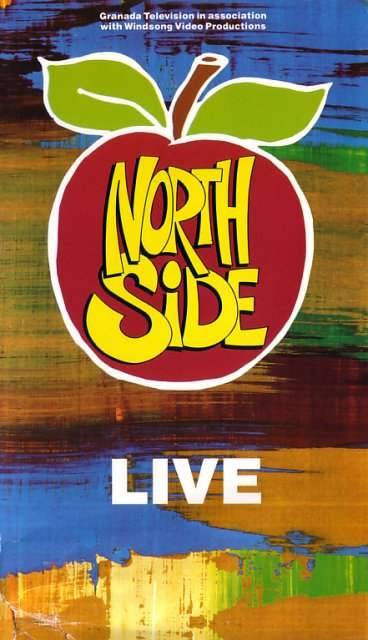 Northside Live video front cover detail