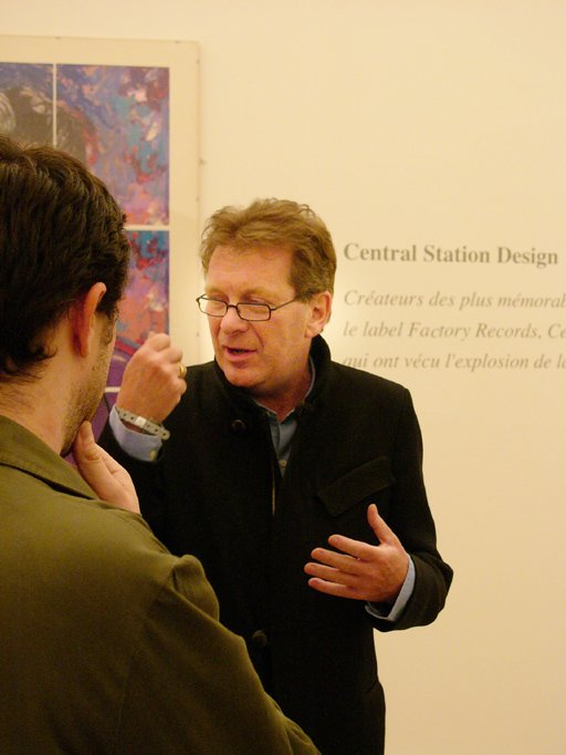 Nuits Sonores 2005; Tony Wilson at the Central Station Design exhibition