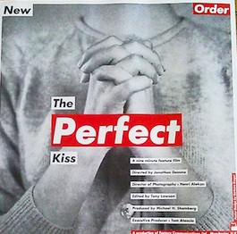 OFNY P3 New Order The Perfect Kiss Poster