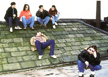 The pretend Happy Mondays in 24 Hour Party People