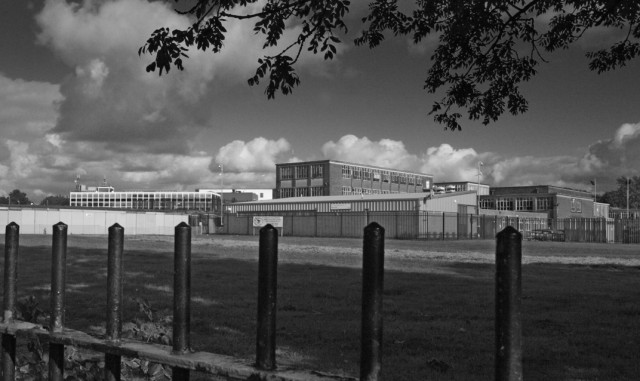 Salford Music Map; Buile Hill High School (formerly Salford Grammar School) [photo © Tim Sinclair 2008]
