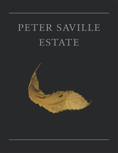 Peter Saville / Estate; front cover detail