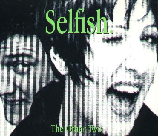 Selfish cd single front cover