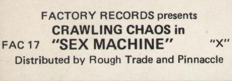 detail from Sex Machine front cover