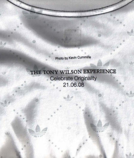 Réification: Making the abstract, concrete - The Tony Wilson Experience - Tony Wilson T-Shirt (reverse)
