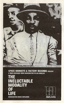 FAC 2.19 THE SPACE MONKEYS / TONY WILSON The Ineluctable Modality of Life