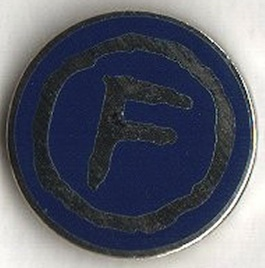 FAC 2.28 Factory Too Lapel badge / Christmas gift 1997