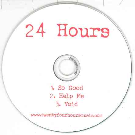 Twenty Four Hours > Live at The Kings Arms Salford, Sunday 11 December 2005; 3 track promo cd sold at the gig