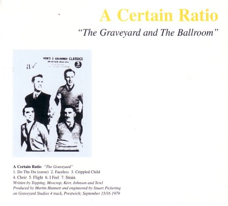 US CD20 The Graveyard and the Ballroom; front cover detail