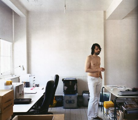 Peter Saville - Wallpaper* September 2004 - Mad About The Boy; photograph by Nigel Shafran