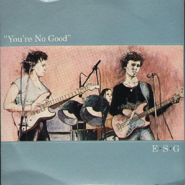 You're No Good 7-inch front cover