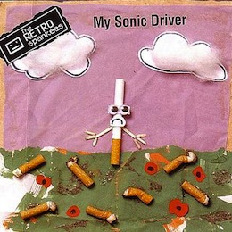 The Retro Spankees - 'My Sonic Driver' CD single